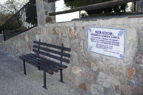 Mirador Federico García Lorca, en Carataunas.