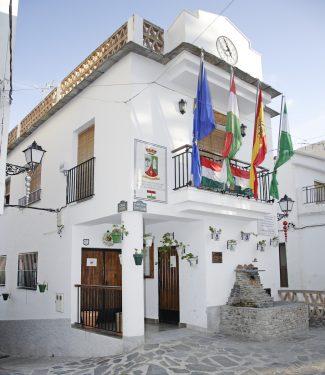 Ayuntamiento de Carataunas, en la alpujarra granadina.