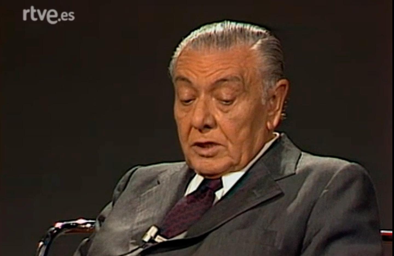 César Torres Martínez, in the program The Key of TVE in 1980.