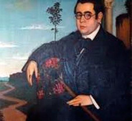 Francisco Soriano Lapresa, retrato de Manuel Ángeles Ortiz.