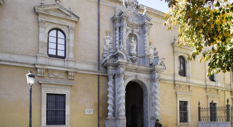 Federico García Lorca cursó estudios en la Facultad de Derecho, en la Plaza de la Universidad.