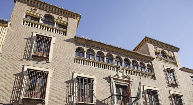 Real Conservatorio Superior de Música Victoria Eugenia, ubicado en la calle San Jerónimo de Granada, antigua sede el Instituto General Técnico donde estudió Lorca.