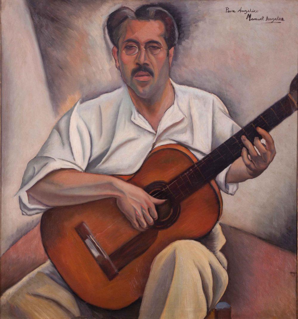 Angel Barrios, portrayed by Manuel Angeles Ortiz.