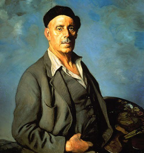 Ignacio Zuloaga, self-portrait