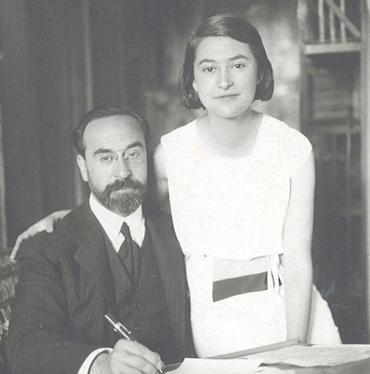 Fernando de los Ríos and Laura de los Ríos.
