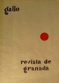 gallo, revista de Granada. / Foto: www.todocoleccion.net