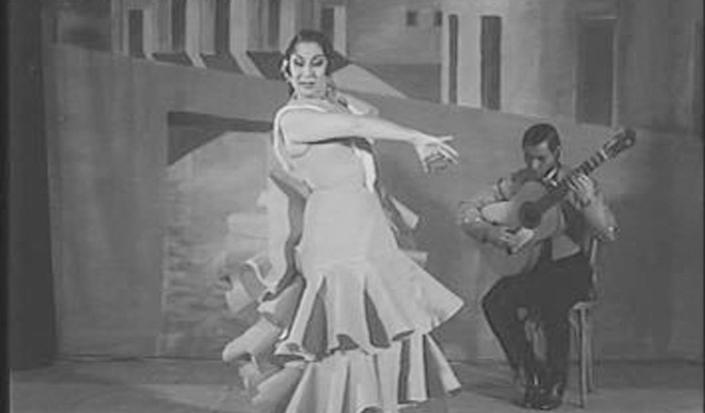 Performance of Pilar López Júlvez.