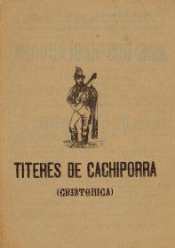 Blackjack Puppets. Federico Federico García Lorca.
