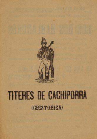 Títeres de Cachiporra. Federico García Lorca.