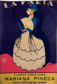 First edition of Mariana Pineda, by Federico García Lorca.