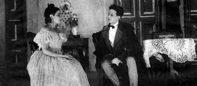 Estreno de Mariana Pineda en el Teatro Goya de Barcelona, en 1927.