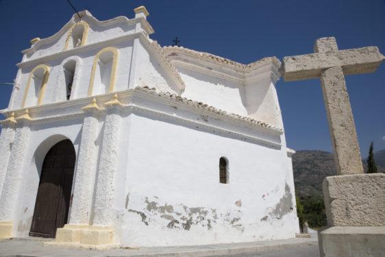 Ermita de San Sebastián. Órgiva.