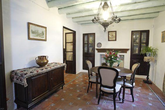 Birthplace Museum of Federico García Lorca in Fuente Vaqueros. Pantry.