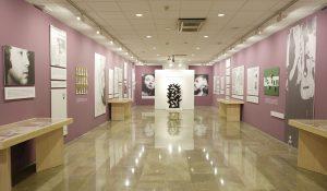 Sala de exposiciones del Centro de Estudios Lorquianos de Fuente Vaqueros.