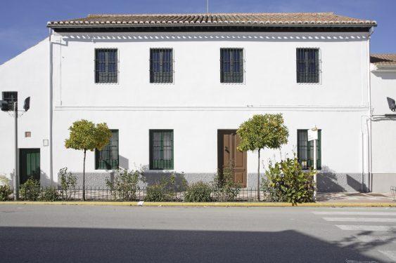 Fachada de la Casa-Museo de Valderrubio de la familia de Federico García Lorca.