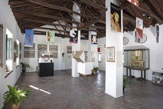 Granero ubicado en la primera planta de la casa familiar de Federico García Lorca en Valderrubio.