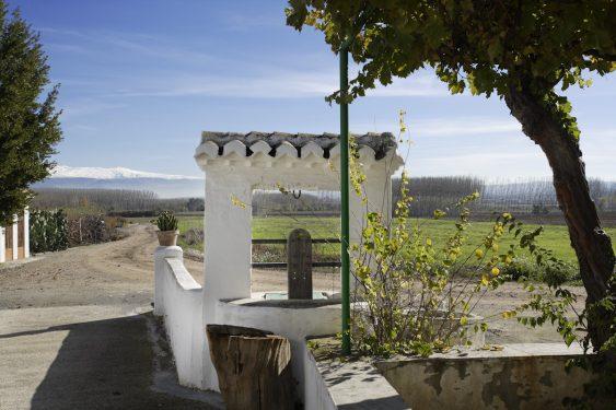 Cortijo Daimuz, finca rústica del padre de Lorca. donde pasó momentos de su infancia.