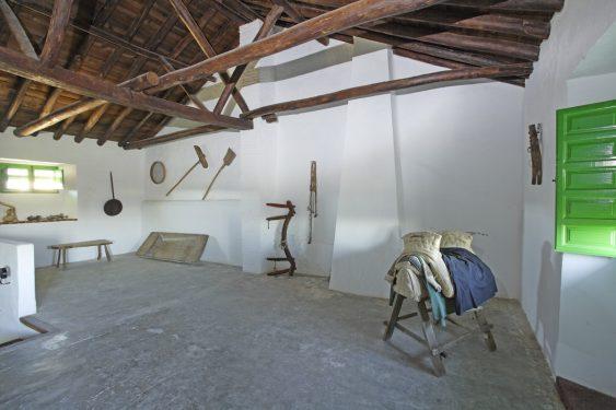 Granero del Cortijo Daimuz, finca rústica del padre de Lorca. donde pasó momentos de su infancia.