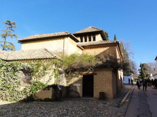 Vista general del Museo Ángel Barrios donde se localizaba la taberna El Polinario.