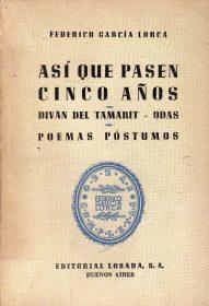 When Five Years Pass, by Federico García Lorca