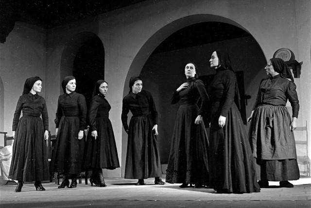 Estreno de La casa de Bernarda Alba en España, 1950