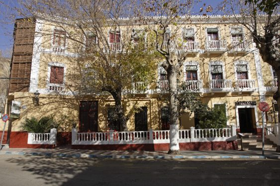Hotel España in Lanjarón, where García Lorca's family stayed when they went to the spa to alleviate Doña Vicenta's ailments.