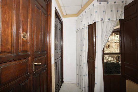 Habitaciones del Hotel España de Lanjarón, donde se hospedaba la familia de García Lorca cuando acudía al balneario para aliviar las dolencias de doña Vicenta.