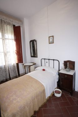 Bedrooms of the Hotel España in Lanjarón, where García Lorca's family stayed when they went to the spa to alleviate Doña Vicenta's ailments. They have been preserved as they were then.