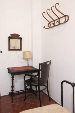 Bedrooms of theHotel España in Lanjarón, where García Lorca's family stayed when they went to the spa to alleviate Doña Vicenta's ailments. They have been preserved as they were then.