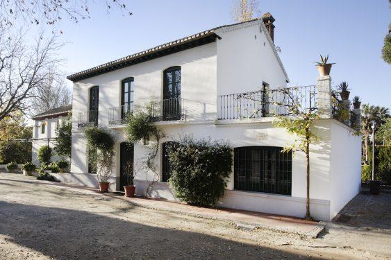 Casa de la Huerta de San Vicente, donde pasaba los veranos la familia de Federico García Lorca.
