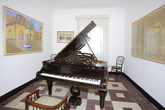 Piano de Federico García Lorca en la Huerta de San Vicente.