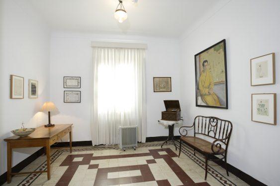 Sala del piano de la Casa de la Huerta de San Vicente, donde pasaba los veranos la familia de Federico García Lorca.