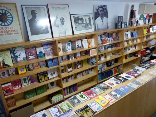 Librería de la Huerta de San Vicente.