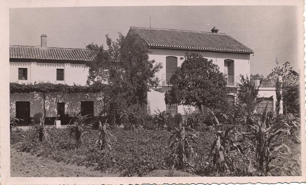 Huerta de San Vicente, en la vega de Granada.