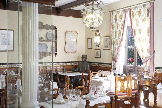 Restaurante Chikito, donde en su día estuvo el Café Alameda, sede de El Rinconcillo. Rincón dedicado a Lorca.