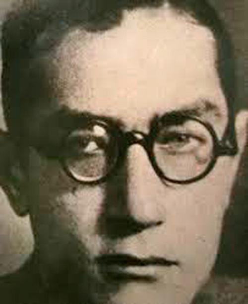 El poeta Luis Rosales, amigo de Lorca.