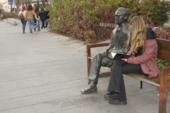 Statue of Federico García Lorca