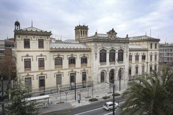 Instituto Padre Suárez, en Granada.