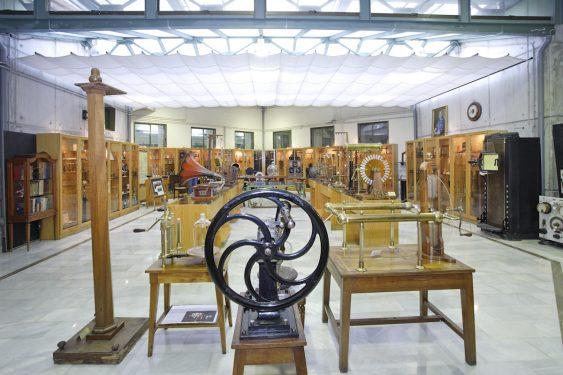 Museo de Ciencias del Instituto Padre Suárez, en Granada.