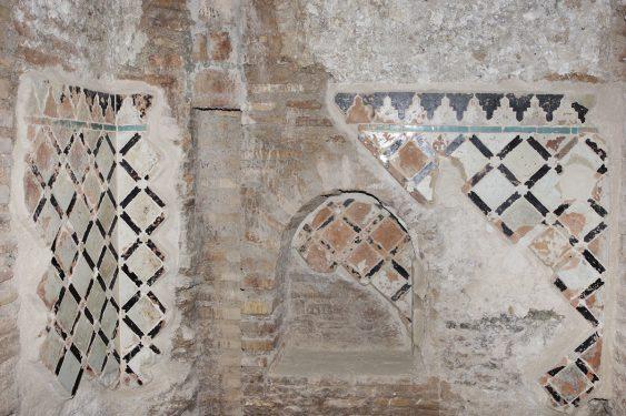 Baño árabe en el interior del Museo Ángel Barrios donde se localizaba la taberna El Polinario.