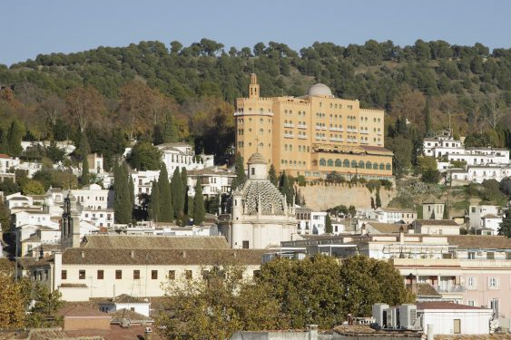 Alhambra Palace Hotel, in Granada.