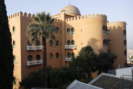 Hotel Alhambra Palace, en Granada.