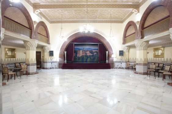 Teatrillo (Small Theater) of the Alhambra Palace Hotel.