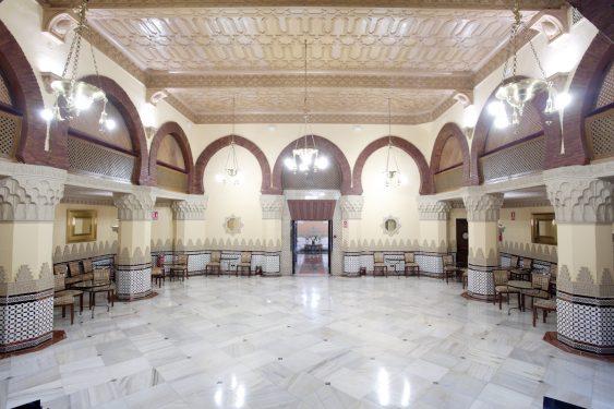 Teatrillo del Hotel Alhambra Palace.