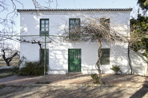 Huerta del Tamarit, which belonged to Clotilde García Picossi, Federico García Lorca's cousin. Main house.