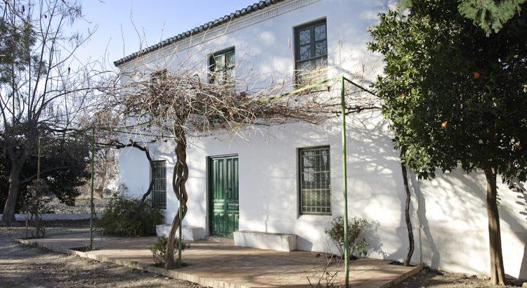 Tamarit Farmhouse, which belonged to Clotilde García Picossi, Federico García Lorca's cousin.