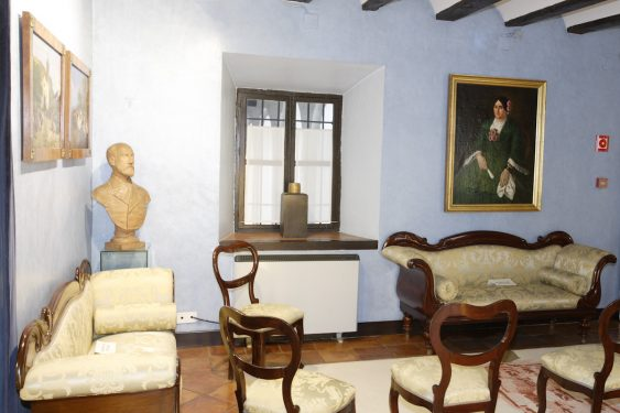 Sala Isabelina en la Casa de los Tiros.