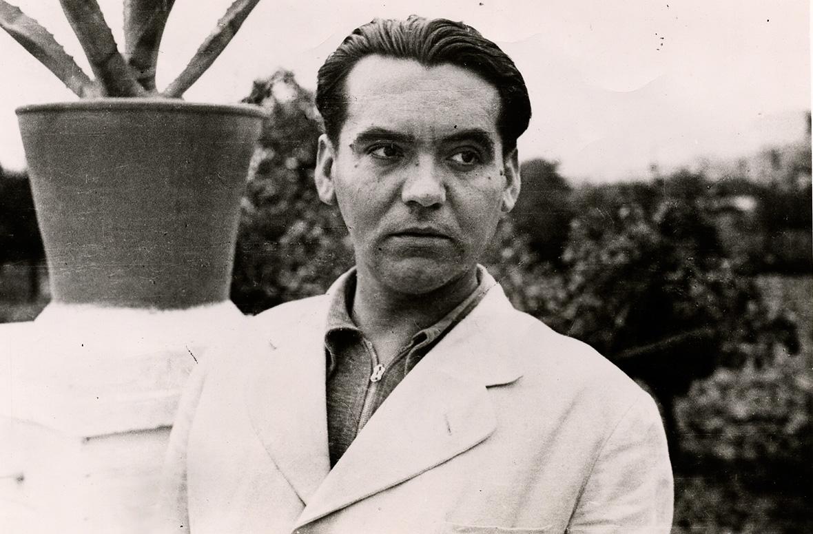 Picture of Federico García Lorca at Huerta de San Vicente.