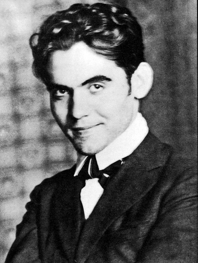 Foto de Federico García Lorca joven.