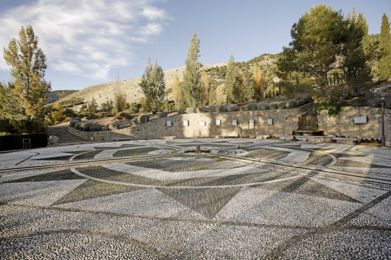 Federico García Lorca Park, built in Alfacar in 1986 in memory of the poet and the other victims of the Civil War.